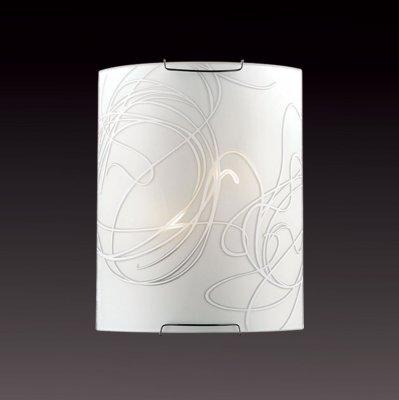 Светильник бра Сонекс 1643 хром/белый MOLANOНакладные<br><br><br>S освещ. до, м2: 8<br>Тип лампы: накаливани / нергосбережени / LED-светодиодна<br>Тип цокол: E14<br>Количество ламп: 2<br>Ширина, мм: 215<br>MAX мощность ламп, Вт: 60<br>Высота, мм: 275<br>Цвет арматуры: серебристый