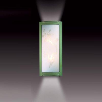 Светильник Сонекс 1645 зеленый/хром SakuraНакладные<br><br><br>S освещ. до, м2: 8<br>Тип лампы: накаливания / энергосбережения / LED-светодиодная<br>Тип цоколя: E27<br>Количество ламп: 2<br>Ширина, мм: 156<br>MAX мощность ламп, Вт: 60<br>Высота, мм: 365<br>Цвет арматуры: серебристый