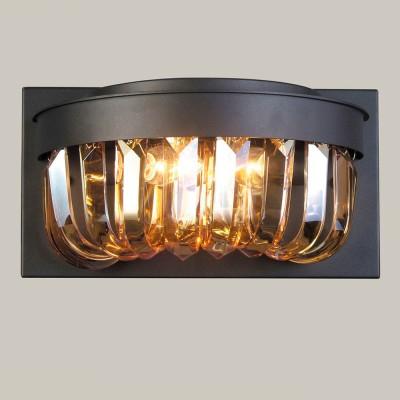Светильник Favourite 1657-2WХрустальные<br><br><br>Тип лампы: Накаливания / энергосбережения / светодиодная<br>Тип цоколя: E14<br>Количество ламп: 2<br>MAX мощность ламп, Вт: 40<br>Размеры: W320*H175*D150<br>Цвет арматуры: черный