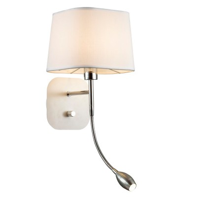 Светильник Favourite 1687-2WКлассические<br><br><br>Тип цоколя: E14<br>Количество ламп: 1<br>MAX мощность ламп, Вт: 40<br>Размеры: W180*H460*D215