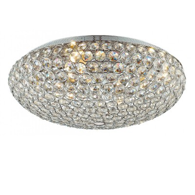 Светильник Favourite 1690-7CПотолочные<br><br><br>S освещ. до, м2: 14<br>Крепление: планка<br>Тип товара: Потолочный светильник<br>Тип цоколя: G9<br>Количество ламп: 7<br>MAX мощность ламп, Вт: 40<br>Размеры: D460*H180