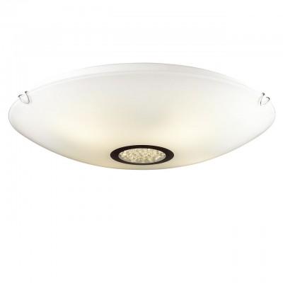 Светильник Favourite 1694-4CКруглые<br>Настенно-потолочные светильники – это универсальные осветительные варианты, которые подходят для вертикального и горизонтального монтажа. В интернет-магазине «Светодом» Вы можете приобрести подобные модели по выгодной стоимости. В нашем каталоге представлены как бюджетные варианты, так и эксклюзивные изделия от производителей, которые уже давно заслужили доверие дизайнеров и простых покупателей.  Настенно-потолочный светильник Favourite 1694-4C станет прекрасным дополнением к основному освещению. Благодаря качественному исполнению и применению современных технологий при производстве эта модель будет радовать Вас своим привлекательным внешним видом долгое время.  Приобрести настенно-потолочный светильник Favourite 1694-4C можно, находясь в любой точке России.<br><br>S освещ. до, м2: 12<br>Крепление: планка<br>Тип лампы: Накаливания / энергосбережения / светодиодная<br>Тип цоколя: E27<br>Количество ламп: 4<br>MAX мощность ламп, Вт: 60<br>Размеры: D520*H110<br>Цвет арматуры: серебристый