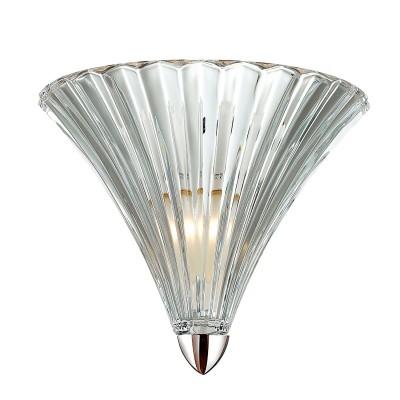 Светильник бра Favourite 1696-1WСовременные<br><br><br>Тип лампы: Накаливания / энергосбережения / светодиодная<br>Тип цоколя: E14<br>Количество ламп: 1<br>MAX мощность ламп, Вт: 40<br>Размеры: W250*H210*D160