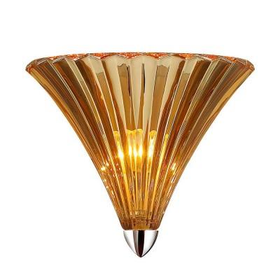 Светильник Favourite 1697-1WМодерн<br><br><br>Тип лампы: Накаливания / энергосбережения / светодиодная<br>Тип цоколя: E14<br>Количество ламп: 1<br>MAX мощность ламп, Вт: 40<br>Размеры: W250*H210*D160<br>Цвет арматуры: серебристый