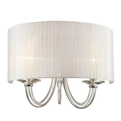 Светильник Favourite 1698-2WСовременные<br><br><br>Тип лампы: Накаливания / энергосбережения / светодиодная<br>Тип цоколя: E14<br>Количество ламп: 2<br>MAX мощность ламп, Вт: 40<br>Размеры: W450*H330*D285<br>Цвет арматуры: серебристый