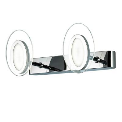 Светильник Favourite 1699-2WХай-тек<br><br><br>Цветовая t, К: CW - холодный белый 4000 К<br>Тип лампы: LED<br>Тип цоколя: LED<br>Количество ламп: 2<br>MAX мощность ламп, Вт: 3<br>Размеры: W300*H140*D120<br>Цвет арматуры: серебристый