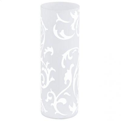 Eglo GEO 91243 Настольная лампаСовременные<br>Австрийское качество модели светильника Eglo 91243 не оставит равнодушным каждого купившего! Плафон из закаленного стекла белого цвета, Класс изоляции 2 (плоская вилка, двойная изоляция от вилки до лампы), отдельный выключатель, IP 20, освещенность 1320 lm Н=350,D=120.<br><br>S освещ. до, м2: 4<br>Тип цоколя: E27<br>Количество ламп: 1<br>Диаметр, мм мм: 120<br>Размеры основания, мм: 0<br>Высота, мм: 350<br>Оттенок (цвет): белый<br>MAX мощность ламп, Вт: 2<br>Общая мощность, Вт: 1X60W