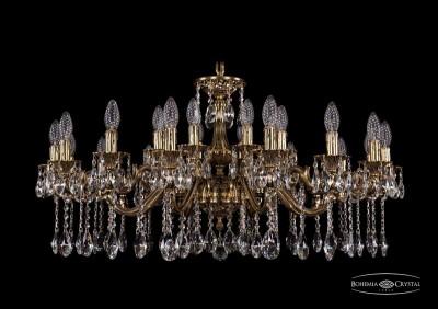 Светильник Bohemia Ivele 1703/24/225+125/A/GBПодвесные<br><br>