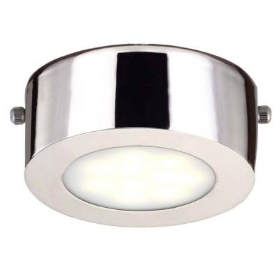 Светильник Favourite 1724-1CКруглые<br>Настенно-потолочные светильники – это универсальные осветительные варианты, которые подходят для вертикального и горизонтального монтажа. В интернет-магазине «Светодом» Вы можете приобрести подобные модели по выгодной стоимости. В нашем каталоге представлены как бюджетные варианты, так и эксклюзивные изделия от производителей, которые уже давно заслужили доверие дизайнеров и простых покупателей.  Настенно-потолочный светильник Favourite 1724-1C станет прекрасным дополнением к основному освещению. Благодаря качественному исполнению и применению современных технологий при производстве эта модель будет радовать Вас своим привлекательным внешним видом долгое время. Приобрести настенно-потолочный светильник Favourite 1724-1C можно, находясь в любой точке России.<br><br>S освещ. до, м2: 2<br>Крепление: планка<br>Тип лампы: LED<br>Тип цоколя: LED<br>Количество ламп: 1<br>MAX мощность ламп, Вт: 5<br>Размеры: D100*H40