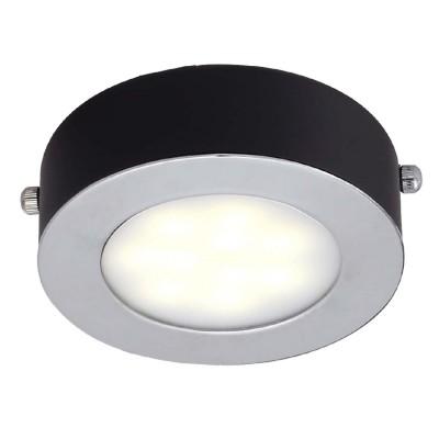 Светильник Favourite 1725-1CКруглые<br>Настенно-потолочные светильники – это универсальные осветительные варианты, которые подходят для вертикального и горизонтального монтажа. В интернет-магазине «Светодом» Вы можете приобрести подобные модели по выгодной стоимости. В нашем каталоге представлены как бюджетные варианты, так и эксклюзивные изделия от производителей, которые уже давно заслужили доверие дизайнеров и простых покупателей.  Настенно-потолочный светильник Favourite 1725-1C станет прекрасным дополнением к основному освещению. Благодаря качественному исполнению и применению современных технологий при производстве эта модель будет радовать Вас своим привлекательным внешним видом долгое время. Приобрести настенно-потолочный светильник Favourite 1725-1C можно, находясь в любой точке России.<br><br>S освещ. до, м2: 2<br>Крепление: планка<br>Тип лампы: LED<br>Тип цоколя: LED<br>Количество ламп: 1<br>Размеры: D100*H40<br>MAX мощность ламп, Вт: 5