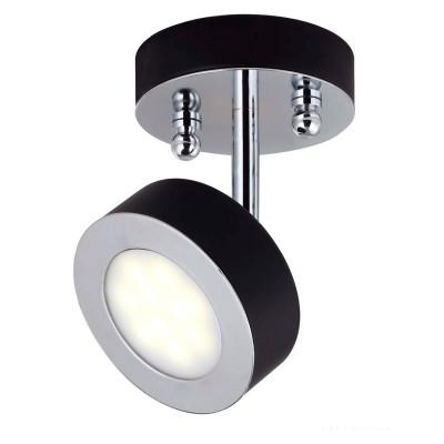 Светильник Favourite 1725-1UОдиночные<br>Светильники-споты – это оригинальные изделия с современным дизайном. Они позволяют не ограничивать свою фантазию при выборе освещения для интерьера. Такие модели обеспечивают достаточно качественный свет. Благодаря компактным размерам Вы можете использовать несколько спотов для одного помещения.  Интернет-магазин «Светодом» предлагает необычный светильник-спот Favourite 1725-1U по привлекательной цене. Эта модель станет отличным дополнением к люстре, выполненной в том же стиле. Перед оформлением заказа изучите характеристики изделия.  Купить светильник-спот Favourite 1725-1U в нашем онлайн-магазине Вы можете либо с помощью формы на сайте, либо по указанным выше телефонам. Обратите внимание, что у нас склады не только в Москве и Екатеринбурге, но и других городах России.<br><br>S освещ. до, м2: 2<br>Крепление: планка<br>Тип лампы: LED<br>Тип цоколя: LED<br>Количество ламп: 1<br>Размеры: D100*H150<br>MAX мощность ламп, Вт: 5