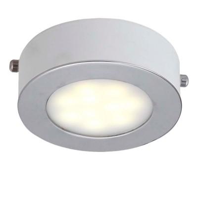 Светильник Favourite 1726-1CКруглые<br>Настенно-потолочные светильники – это универсальные осветительные варианты, которые подходят для вертикального и горизонтального монтажа. В интернет-магазине «Светодом» Вы можете приобрести подобные модели по выгодной стоимости. В нашем каталоге представлены как бюджетные варианты, так и эксклюзивные изделия от производителей, которые уже давно заслужили доверие дизайнеров и простых покупателей.  Настенно-потолочный светильник Favourite 1726-1C станет прекрасным дополнением к основному освещению. Благодаря качественному исполнению и применению современных технологий при производстве эта модель будет радовать Вас своим привлекательным внешним видом долгое время. Приобрести настенно-потолочный светильник Favourite 1726-1C можно, находясь в любой точке России.<br><br>S освещ. до, м2: 2<br>Крепление: планка<br>Тип цоколя: LED<br>Количество ламп: 1<br>MAX мощность ламп, Вт: 5<br>Размеры: D100*H40