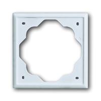 Рамка 1 пост альпийский белый Impuls (ABB) [BJE1721-74] 1754-0-4222Impuls (BJB)<br><br><br>Оттенок (цвет): белый