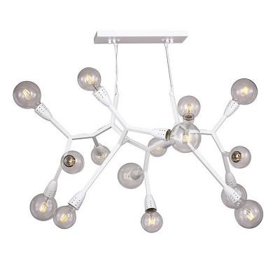 Люстра Favourite 1755-15P ElectronАрхив<br>Выбирая модель светильника Favourite 1755-15P, обратите внимание, что каркас белого цвета, лучше использовать лампы крупного размера шарообразной формы. Дополнительная информация в характеристиках или по телефону.<br><br>S освещ. до, м2: 30<br>Крепление: Планка<br>Тип цоколя: E27<br>Количество ламп: 15<br>Диаметр, мм мм: 1050<br>Размеры: D1050*H750/1400<br>Высота, мм: 750 - 1400<br>MAX мощность ламп, Вт: 40<br>Общая мощность, Вт: 40W