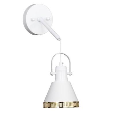 Настенный светильник Favourite 1756-1W HelixЛофт<br>Выбирая модель светильника Favourite 1756-1W, обратите внимание, что металл белого цвета с золотыми декоративными элементами. Дополнительная информация в характеристиках или по телефону.<br><br>Тип цоколя: E27<br>Количество ламп: 1<br>Ширина, мм: 140<br>Размеры: W140*H250*D245<br>Длина, мм: 245<br>Высота, мм: 250<br>Общая мощность, Вт: 40W