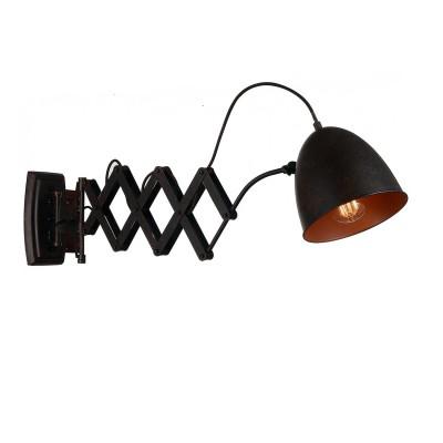 Настенный светильник Favourite 1761-1W BellowsЛофт<br>Выбирая модель светильника Favourite 1761-1W, обратите внимание, что арматура темно-коричневого цвета, раздвижной механизм. Дополнительная информация в характеристиках или по телефону.<br><br>Тип цоколя: E27<br>Количество ламп: 1<br>Ширина, мм: 190<br>Размеры: D1050*W190*H220<br>Длина, мм: 1050<br>Высота, мм: 220<br>Общая мощность, Вт: 60W