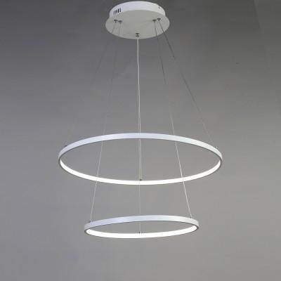 Люстра Favourite 1765-10P GiroПодвесные<br>Выбирая модель светильника Favourite 1765-10P, обратите внимание, что каркас белого цвета, акриловое покрытие LED белого матового цвета. Дополнительная информация в характеристиках или по телефону.<br><br>S освещ. до, м2: 32<br>Крепление: Планка<br>Цветовая t, К: 4000-4200K<br>Тип цоколя: LED<br>Количество ламп: 1<br>MAX мощность ламп, Вт: 80<br>Диаметр, мм мм: 400/600<br>Размеры: D400/600*H400/1400<br>Высота, мм: 400 - 1400<br>Цвет арматуры: белый<br>Общая мощность, Вт: 80W