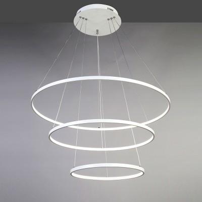 Люстра Favourite 1765-18P GiroПодвесные<br>Выбирая модель светильника Favourite 1765-18P, обратите внимание, что каркас белого цвета, акриловое покрытие LED белого матового цвета. Дополнительная информация в характеристиках или по телефону.<br><br>Крепление: Планка<br>Цветовая t, К: 4000-4200K<br>Тип цоколя: LED<br>Диаметр, мм мм: 400/600/800<br>Размеры: D400/600/800*H1800<br>Высота, мм: 1800<br>Общая мощность, Вт: 146W