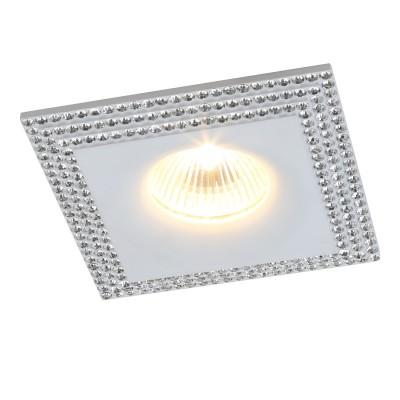 Светильник потолочный Divinare 1769/43 PL-1Квадратные<br>Встраиваемые светильники – популярное осветительное оборудование, которое можно использовать в качестве основного источника или в дополнение к люстре. Они позволяют создать нужную атмосферу атмосферу и привнести в интерьер уют и комфорт.   Интернет-магазин «Светодом» предлагает стильный встраиваемый светильник Divinare 1769/43 PL-1. Данная модель достаточно универсальна, поэтому подойдет практически под любой интерьер. Перед покупкой не забудьте ознакомиться с техническими параметрами, чтобы узнать тип цоколя, площадь освещения и другие важные характеристики.   Приобрести встраиваемый светильник Divinare 1769/43 PL-1 в нашем онлайн-магазине Вы можете либо с помощью «Корзины», либо по контактным номерам. Мы развозим заказы по Москве, Екатеринбургу и остальным российским городам.<br><br>Тип цоколя: GU5.3<br>Количество ламп: 1<br>MAX мощность ламп, Вт: 50<br>Диаметр, мм мм: 1000<br>Длина, мм: 1000<br>Высота, мм: 250<br>Цвет арматуры: белый