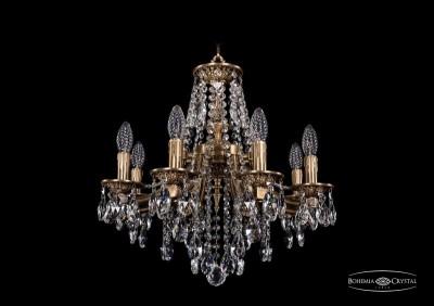 Люстра Bohemia Ivele 1771/8/150/B/FPПодвесные<br><br><br>Тип товара: Люстра<br>Тип лампы: накаливания / энергосбережения / LED-светодиодная<br>Тип цоколя: E14<br>Количество ламп: 8<br>Диаметр, мм мм: 500<br>Высота, мм: 420<br>Цвет арматуры: Французская патина