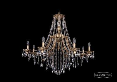 Люстра Bohemia Ivele 1771/8/340/B/FPПодвесные<br><br><br>S освещ. до, м2: 16<br>Тип товара: Люстра<br>Тип лампы: накаливания / энергосбережения / LED-светодиодная<br>Тип цоколя: E14<br>Количество ламп: 8<br>MAX мощность ламп, Вт: 40<br>Диаметр, мм мм: 1000<br>Высота, мм: 740<br>Цвет арматуры: Французская патина
