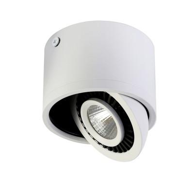 Потолочный светильник Favourite 1775-1C ReflectorНакладные точечные<br>Выбирая модель светильника Favourite 1775-1C, обратите внимание, что потолочный светильник с поворотным источником света, цвета каркаса: белый внешний, черный поворотного элемента. Дополнительная информация в характеристиках или по телефону.<br><br>S освещ. до, м2: 3<br>Крепление: Планка<br>Цветовая t, К: 4000-4200K<br>Тип цоколя: LED<br>Диаметр, мм мм: 87<br>Размеры: D87*H60<br>Высота, мм: 60<br>Общая мощность, Вт: 7W