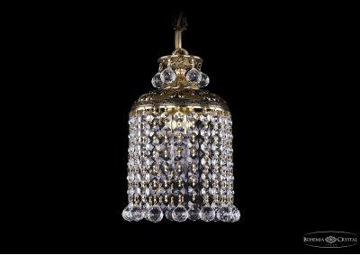 Люстра Bohemia Ivele 1778/14/GB/BallsПодвесные<br><br><br>S освещ. до, м2: 1<br>Тип товара: Люстра<br>Тип лампы: накаливания / энергосбережения / LED-светодиодная<br>Тип цоколя: Е27<br>Количество ламп: 1<br>MAX мощность ламп, Вт: 40<br>Диаметр, мм мм: 140<br>Высота, мм: 220<br>Цвет арматуры: Золото черненное