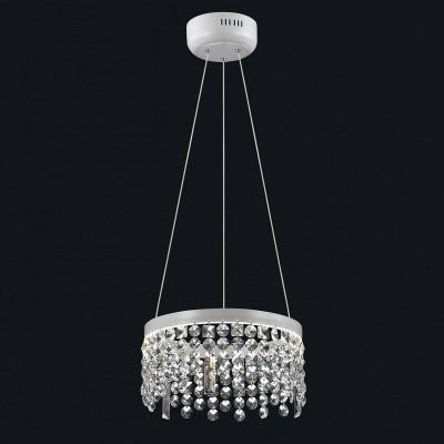 Люстра Favourite 1780-3P SplatterПодвесные<br>Выбирая модель светильника Favourite 1780-3P, обратите внимание, что каркас белого цвета, хрусталь высшего качества. Дополнительная информация в характеристиках или по телефону.<br><br>S освещ. до, м2: 8<br>Крепление: Планка<br>Цветовая t, К: 4000K<br>Тип цоколя: LED<br>Количество ламп: 1<br>Диаметр, мм мм: 300<br>Размеры: D300*H630<br>Высота, мм: 630<br>Общая мощность, Вт: 20W
