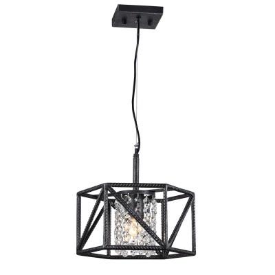 Люстра Favourite 1781-1P HullПодвесные<br>Выбирая модель светильника Favourite 1781-1P, обратите внимание, что металл черного цвета с серебром, хрусталь высшего качества. Дополнительная информация в характеристиках или по телефону.<br><br>S освещ. до, м2: 2<br>Крепление: Планка<br>Тип цоколя: E27<br>Количество ламп: 1<br>MAX мощность ламп, Вт: 40<br>Диаметр, мм мм: 300<br>Размеры: D300*H280/1280<br>Высота, мм: 280 - 1280<br>Общая мощность, Вт: 60W
