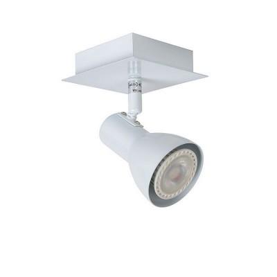 Светильник Lucide 17942/05/31одиночные споты<br><br><br>S освещ. до, м2: 2<br>Тип лампы: Накаливания / энергосбережения / светодиодная<br>Тип цоколя: GU10<br>Количество ламп: 1<br>Ширина, мм: 100<br>Длина, мм: 100<br>Высота, мм: 140