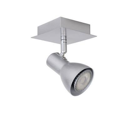 Светильник Lucide 17942/05/36одиночные споты<br><br><br>S освещ. до, м2: 2<br>Тип лампы: галогенная/LED<br>Тип цоколя: GU10<br>Количество ламп: 1<br>Ширина, мм: 100<br>Длина, мм: 100<br>Высота, мм: 140
