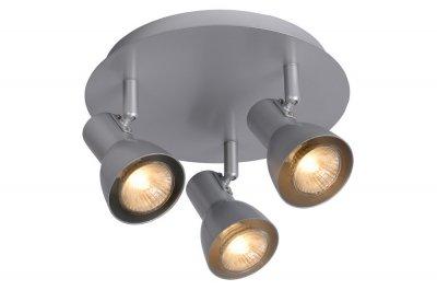 спот Lucide 17942/13/36 LAURAТройные<br>Светильники-споты – это оригинальные изделия с современным дизайном. Они позволяют не ограничивать свою фантазию при выборе освещения для интерьера. Такие модели обеспечивают достаточно качественный свет. Благодаря компактным размерам Вы можете использовать несколько спотов для одного помещения.  Интернет-магазин «Светодом» предлагает необычный светильник-спот Lucide 17942/13/36 по привлекательной цене. Эта модель станет отличным дополнением к люстре, выполненной в том же стиле. Перед оформлением заказа изучите характеристики изделия.  Купить светильник-спот Lucide 17942/13/36 в нашем онлайн-магазине Вы можете либо с помощью формы на сайте, либо по указанным выше телефонам. Обратите внимание, что у нас склады не только в Москве и Екатеринбурге, но и других городах России.<br><br>S освещ. до, м2: 2<br>Тип лампы: галогенная / LED-светодиодная<br>Тип цоколя: GU10<br>Цвет арматуры: серый<br>Количество ламп: 1<br>Диаметр, мм мм: 2300<br>Высота, мм: 120<br>MAX мощность ламп, Вт: 35