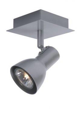 спот Lucide 17942/21/36 LAURAснятые с производства светильники<br>Светильники-споты – это оригинальные изделия с современным дизайном. Они позволяют не ограничивать свою фантазию при выборе освещения для интерьера. Такие модели обеспечивают достаточно качественный свет. Благодаря компактным размерам Вы можете использовать несколько спотов для одного помещения.  Интернет-магазин «Светодом» предлагает необычный светильник-спот Lucide 17942/21/36 по привлекательной цене. Эта модель станет отличным дополнением к люстре, выполненной в том же стиле. Перед оформлением заказа изучите характеристики изделия.  Купить светильник-спот Lucide 17942/21/36 в нашем онлайн-магазине Вы можете либо с помощью формы на сайте, либо по указанным выше телефонам. Обратите внимание, что мы предлагаем доставку не только по Москве и Екатеринбургу, но и всем остальным российским городам.<br><br>S освещ. до, м2: 2<br>Тип лампы: галогенная / LED-светодиодная<br>Тип цоколя: GU10<br>Цвет арматуры: серый<br>Количество ламп: 1<br>Ширина, мм: 100<br>Длина, мм: 100<br>Высота, мм: 120<br>MAX мощность ламп, Вт: 35