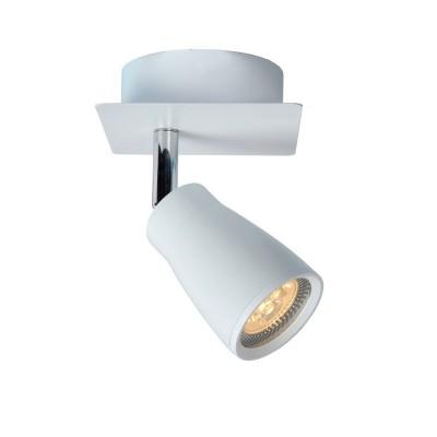 Светильник Lucide 17949/21/31одиночные споты<br>Светильники-споты – это оригинальные изделия с современным дизайном. Они позволяют не ограничивать свою фантазию при выборе освещения для интерьера. Такие модели обеспечивают достаточно качественный свет. Благодаря компактным размерам Вы можете использовать несколько спотов для одного помещения.  Интернет-магазин «Светодом» предлагает необычный светильник-спот Lucide 17949/21/31 по привлекательной цене. Эта модель станет отличным дополнением к люстре, выполненной в том же стиле. Перед оформлением заказа изучите характеристики изделия.  Купить светильник-спот Lucide 17949/21/31 в нашем онлайн-магазине Вы можете либо с помощью формы на сайте, либо по указанным выше телефонам. Обратите внимание, что у нас склады не только в Москве и Екатеринбурге, но и других городах России.<br><br>S освещ. до, м2: 2<br>Тип лампы: LED - светодиодная<br>Тип цоколя: GU10<br>Цвет арматуры: белый<br>Количество ламп: 1<br>Ширина, мм: 100<br>Длина, мм: 100<br>Высота, мм: 160<br>MAX мощность ламп, Вт: 50