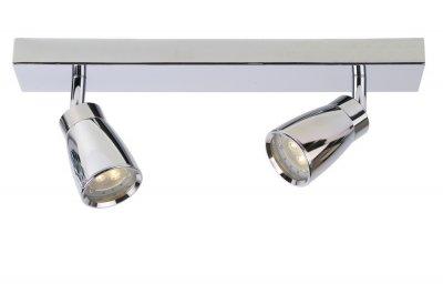 спот Lucide 17949/22/11 LANAдвойные светильники споты<br>Светильники-споты – это оригинальные изделия с современным дизайном. Они позволяют не ограничивать свою фантазию при выборе освещения для интерьера. Такие модели обеспечивают достаточно качественный свет. Благодаря компактным размерам Вы можете использовать несколько спотов для одного помещения.  Интернет-магазин «Светодом» предлагает необычный светильник-спот Lucide 17949/22/11 по привлекательной цене. Эта модель станет отличным дополнением к люстре, выполненной в том же стиле. Перед оформлением заказа изучите характеристики изделия.  Купить светильник-спот Lucide 17949/22/11 в нашем онлайн-магазине Вы можете либо с помощью формы на сайте, либо по указанным выше телефонам. Обратите внимание, что у нас склады не только в Москве и Екатеринбурге, но и других городах России.<br><br>S освещ. до, м2: 4<br>Тип лампы: LED - светодиодная<br>Тип цоколя: LED<br>Цвет арматуры: серебристый хром<br>Количество ламп: 2<br>Ширина, мм: 60<br>Длина, мм: 360<br>Высота, мм: 120<br>MAX мощность ламп, Вт: 4,5