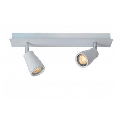 Светильник Lucide 17949/22/31Двойные<br>Светильники-споты – это оригинальные изделия с современным дизайном. Они позволяют не ограничивать свою фантазию при выборе освещения для интерьера. Такие модели обеспечивают достаточно качественный свет. Благодаря компактным размерам Вы можете использовать несколько спотов для одного помещения.  Интернет-магазин «Светодом» предлагает необычный светильник-спот Lucide 17949/22/31 по привлекательной цене. Эта модель станет отличным дополнением к люстре, выполненной в том же стиле. Перед оформлением заказа изучите характеристики изделия.  Купить светильник-спот Lucide 17949/22/31 в нашем онлайн-магазине Вы можете либо с помощью формы на сайте, либо по указанным выше телефонам. Обратите внимание, что у нас склады не только в Москве и Екатеринбурге, но и других городах России.<br><br>S освещ. до, м2: 4<br>Цветовая t, К: 3000<br>Тип лампы: LED - светодиодная<br>Тип цоколя: GU10<br>Цвет арматуры: белый<br>Количество ламп: 2<br>Ширина, мм: 60<br>Длина, мм: 360<br>Высота, мм: 120<br>MAX мощность ламп, Вт: 4.5