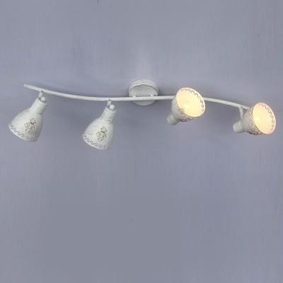 Потолочный светильник Favourite 1798-4U MartosС 4 лампами<br>Выбирая модель светильника Favourite 1798-4U, обратите внимание, что каркас белого цвета с золотой патиной, плафон из металла. Дополнительная информация в характеристиках или по телефону.<br><br>S освещ. до, м2: 8<br>Тип цоколя: E14<br>Количество ламп: 4<br>Ширина, мм: 160<br>Размеры: L775*W160*H175<br>Длина, мм: 775<br>Высота, мм: 175<br>Общая мощность, Вт: 40W