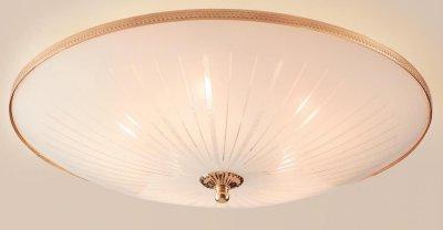Citilux CL912521 Люстра потолочнаяПотолочные<br><br><br>Установка на натяжной потолок: Ограничено<br>S освещ. до, м2: 25<br>Крепление: Планка<br>Тип товара: Люстра потолочная<br>Тип лампы: накаливания / энергосбережения / LED-светодиодная<br>Тип цоколя: E27<br>Количество ламп: 5<br>MAX мощность ламп, Вт: 75<br>Диаметр, мм мм: 500<br>Размеры: Диаметр 50см, Высота 16см<br>Высота, мм: 160<br>Оттенок (цвет): белый<br>Цвет арматуры: золотой