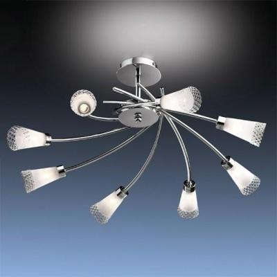 Люстра Odeon Light 1804/8 хром ColiПотолочные<br>Компания «Светодом» предлагает широкий ассортимент люстр от известных производителей. Представленные в нашем каталоге товары выполнены из современных материалов и обладают отличным качеством. Благодаря широкому ассортименту Вы сможете найти у нас люстру под любой интерьер. Мы предлагаем как классические варианты, так и современные модели, отличающиеся лаконичностью и простотой форм.  Стильная люстра Odeon light 1804/8  станет украшением любого дома. Эта модель от известного производителя не оставит равнодушным ценителей красивых и оригинальных предметов интерьера. Люстра Odeon light 1804/8  обеспечит равномерное распределение света по всей комнате. При выборе обратите внимание на характеристики, позволяющие приобрести наиболее подходящую модель. Купить понравившуюся люстру по доступной цене Вы можете в интернет-магазине «Светодом».<br><br>S освещ. до, м2: 21<br>Тип лампы: галогенная / LED-светодиодная<br>Тип цоколя: G9<br>Количество ламп: 8<br>MAX мощность ламп, Вт: 40<br>Диаметр, мм мм: 640<br>Высота, мм: 380<br>Цвет арматуры: серебристый хром
