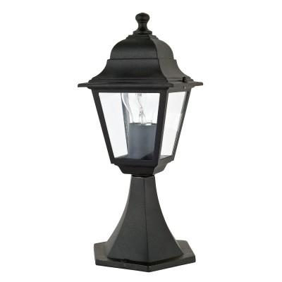 Уличный светильник Favourite 1812-1T LeonФонари на столб<br>Выбирая модель светильника Favourite 1812-1T, обратите внимание, что металл черного цвета, плафон из прозрачного стекла. Дополнительная информация в характеристиках или по телефону.<br><br>Тип цоколя: E27<br>Количество ламп: 1<br>Ширина, мм: 175<br>Размеры: 175*175*400<br>Длина, мм: 175<br>Высота, мм: 400<br>Общая мощность, Вт: 60W
