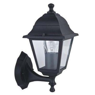 Уличный светильник Favourite 1812-1W LeonНастенные<br>Выбирая модель светильника Favourite 1812-1W, обратите внимание, что металл черного цвета, плафон из прозрачного стекла. Дополнительная информация в характеристиках или по телефону.<br><br>Тип цоколя: E27<br>Количество ламп: 1<br>Ширина, мм: 150<br>Размеры: 205*150*330<br>Длина, мм: 205<br>Высота, мм: 330<br>Общая мощность, Вт: 60W