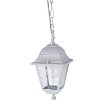 Уличный светильник Favourite 1814-1P LeonПодвесные<br>Выбирая модель светильника Favourite 1814-1P, обратите внимание, что металл белого цвета, плафон из прозрачного стекла. Дополнительная информация в характеристиках или по телефону.<br><br>Крепление: Крюк<br>Тип цоколя: E27<br>Количество ламп: 1<br>Ширина, мм: 150<br>Размеры: 150*150*700<br>Длина, мм: 150<br>Высота, мм: 700<br>Общая мощность, Вт: 60W