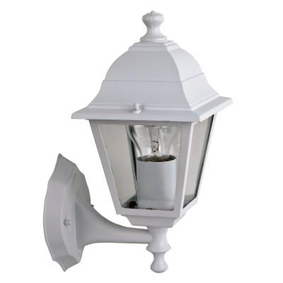 Уличный светильник Favourite 1814-1W LeonНастенные<br>Выбирая модель светильника Favourite 1814-1W, обратите внимание, что металл белого цвета, плафон из прозрачного стекла. Дополнительная информация в характеристиках или по телефону.<br><br>Тип цоколя: E27<br>Количество ламп: 1<br>Ширина, мм: 150<br>Размеры: 205*150*330<br>Длина, мм: 205<br>Высота, мм: 330<br>Общая мощность, Вт: 60W