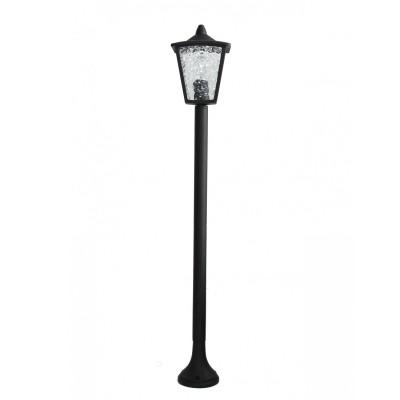 Уличный светильник Favourite 1817-1F ColossoОдиночные столбы<br>Выбирая модель светильника Favourite 1817-1F, обратите внимание, что каркас черного матового цвета, полупрозрачное стекло с эффектом льда. Дополнительная информация в характеристиках или по телефону.<br><br>Тип цоколя: E27<br>Количество ламп: 1<br>Ширина, мм: 180<br>Размеры: W180*L180*H1050<br>Длина, мм: 180<br>Высота, мм: 1050<br>Общая мощность, Вт: 60W