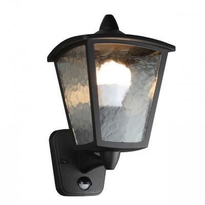 Уличный светильник Favourite 1818-1W ColossoНастенные<br>Выбирая модель светильника Favourite 1818-1W, обратите внимание, что каркас черного матового цвета, полупрозрачное стекло с эффектом льда, датчик движения. Дополнительная информация в характеристиках или по телефону.<br><br>Тип цоколя: E27<br>Количество ламп: 1<br>Ширина, мм: 180<br>Размеры: D220*W180*H315<br>Длина, мм: 220<br>Высота, мм: 315<br>Общая мощность, Вт: 60W
