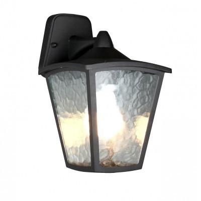 Уличный светильник Favourite 1819-1W ColossoНастенные<br>Выбирая модель светильника Favourite 1819-1W, обратите внимание, что каркас черного матового цвета, полупрозрачное стекло с эффектом льда. Дополнительная информация в характеристиках или по телефону.<br><br>Тип цоколя: E27<br>Количество ламп: 1<br>Ширина, мм: 180<br>Размеры: D220*W180*H315<br>Длина, мм: 220<br>Высота, мм: 315<br>Общая мощность, Вт: 60W