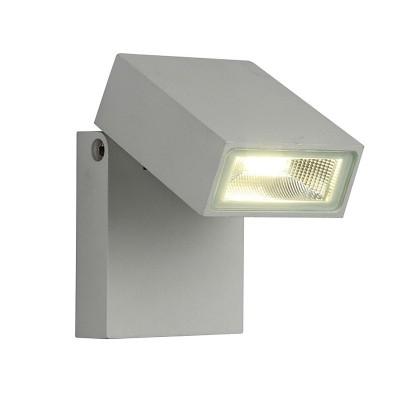 Уличный светильник Favourite 1823-1W FlickerУличные настенные светильники<br>Выбирая модель светильника Favourite 1823-1W, обратите внимание, что металл алюминиевого цвета (матовое серебро), стеклянный рассеиватель. Дополнительная информация в характеристиках или по телефону.<br><br>Тип цоколя: LED<br>Ширина, мм: 85<br>Размеры: 102*85*64<br>Длина, мм: 102<br>Высота, мм: 64<br>Общая мощность, Вт: 10W