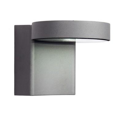 Уличный светильник Favourite 1826-1W FlickerУличные настенные светильники<br>Выбирая модель светильника Favourite 1826-1W, обратите внимание, что металл алюминиевого цвета (матовое серебро), стеклянный рассеиватель. Дополнительная информация в характеристиках или по телефону.<br><br>Тип цоколя: LED<br>Количество ламп: 1<br>Ширина, мм: 101<br>Размеры: 108*101*138<br>Длина, мм: 108<br>Высота, мм: 138<br>Общая мощность, Вт: 10W