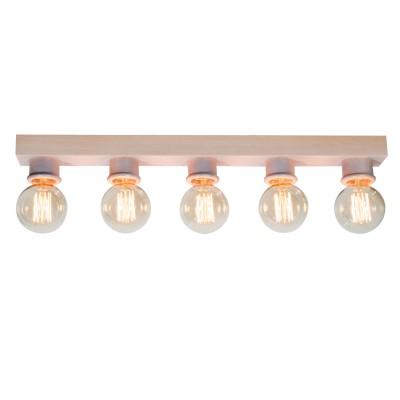 Люстра подвесная Дубравия 183-54-15DПотолочные<br><br><br>Установка на натяжной потолок: Да<br>S освещ. до, м2: 12<br>Рекомендуемые колбы ламп: ретро лампы<br>Крепление: Планка<br>Тип цоколя: E27<br>Цвет арматуры: беленый белый<br>Количество ламп: 5<br>Ширина, мм: 65<br>Длина, мм: 400<br>Высота, мм: 1200<br>MAX мощность ламп, Вт: 40