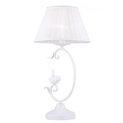 Настольная лампа Favourite 1836-1T CardellinoФлористика<br>Выбирая модель светильника Favourite 1836-1T, обратите внимание, что каркас белого цвета, декоративные птички из гипса, хрусталь высшего качества. Дополнительная информация в характеристиках или по телефону.<br><br>Тип цоколя: E14<br>Количество ламп: 1<br>Диаметр, мм мм: 250<br>Размеры: D250*H410<br>Высота, мм: 410<br>Общая мощность, Вт: 40W